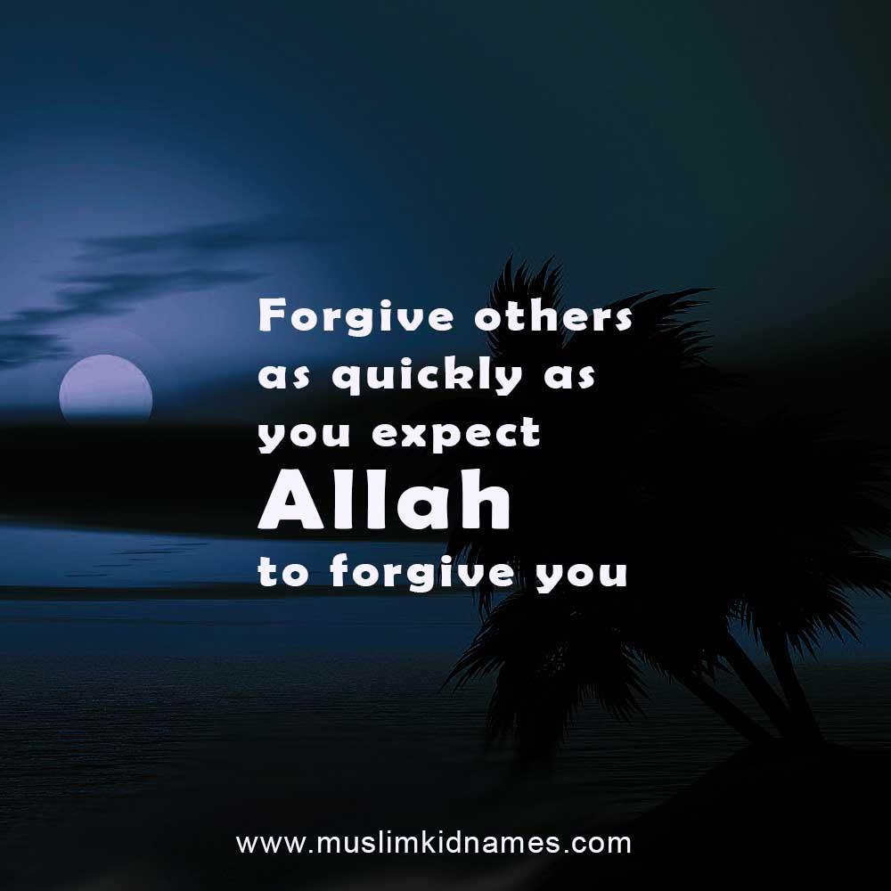 Forgive others free islamic quote