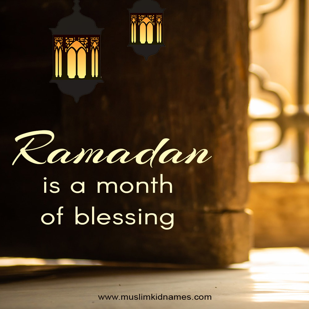 Month of blessing free islamic image